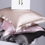 B SILKNESS 100% Mulberry šilko pagalvės užvalkalas (su apvadais)